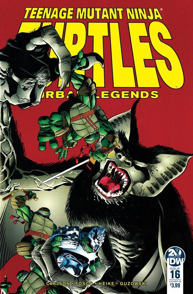 Teenage Mutant Ninja Turtles Urban Legends #16 Cover B Variant Frank Fosco & Erik Larsen Cover