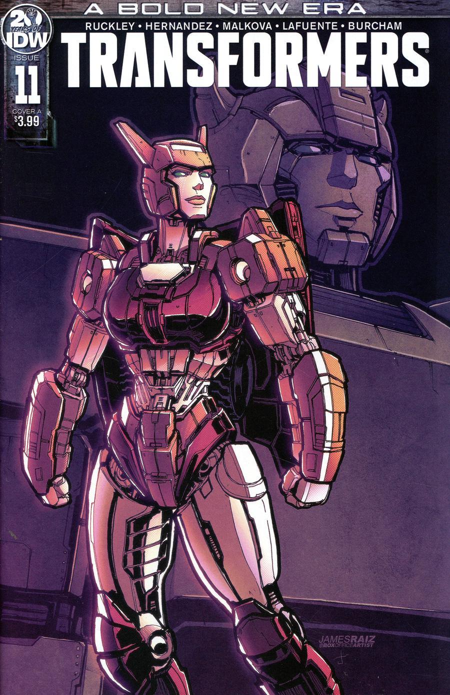 Transformers Vol 4 #11 Cover A Regular James Raiz Cover