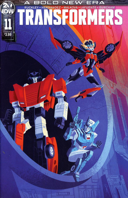 Transformers Vol 4 #11 Cover B Variant George Caltsoudas Cover