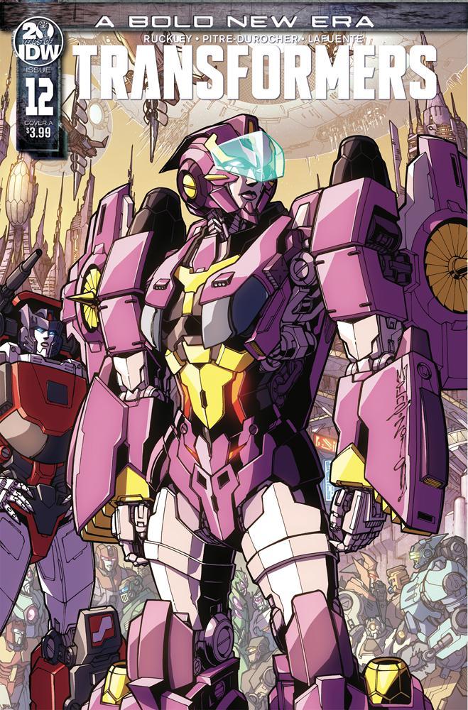 Transformers Vol 4 #12 Cover A Regular Alex Milne Cover