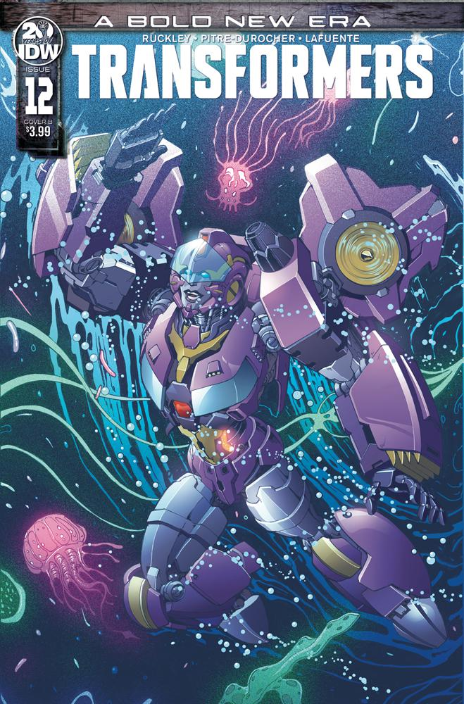 Transformers Vol 4 #12 Cover B Variant Andrew Griffith Cover