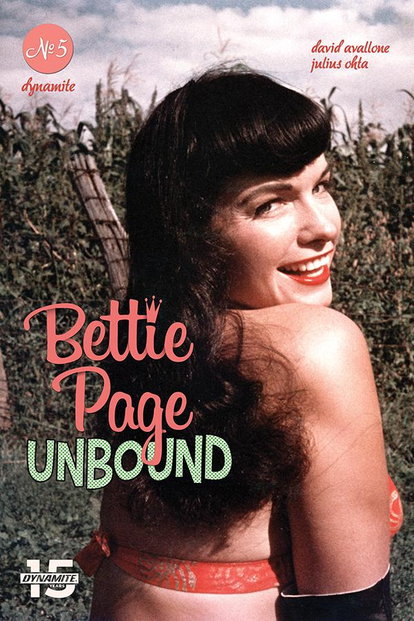 Bettie Page Unbound #5 Cover E Variant Photo Cover
