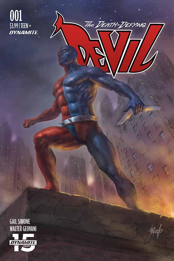 Death-Defying Devil Vol 2 #1 Cover B Variant Lucio Parrillo Cover