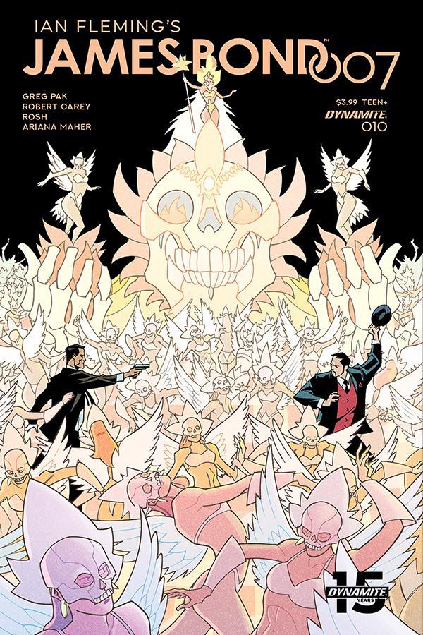 James Bond 007 #10 Cover C Variant Phil Hester Cover