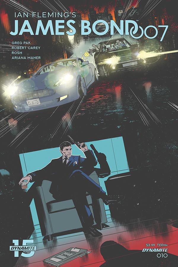 James Bond 007 #10 Cover D Variant Robert Carey Cover