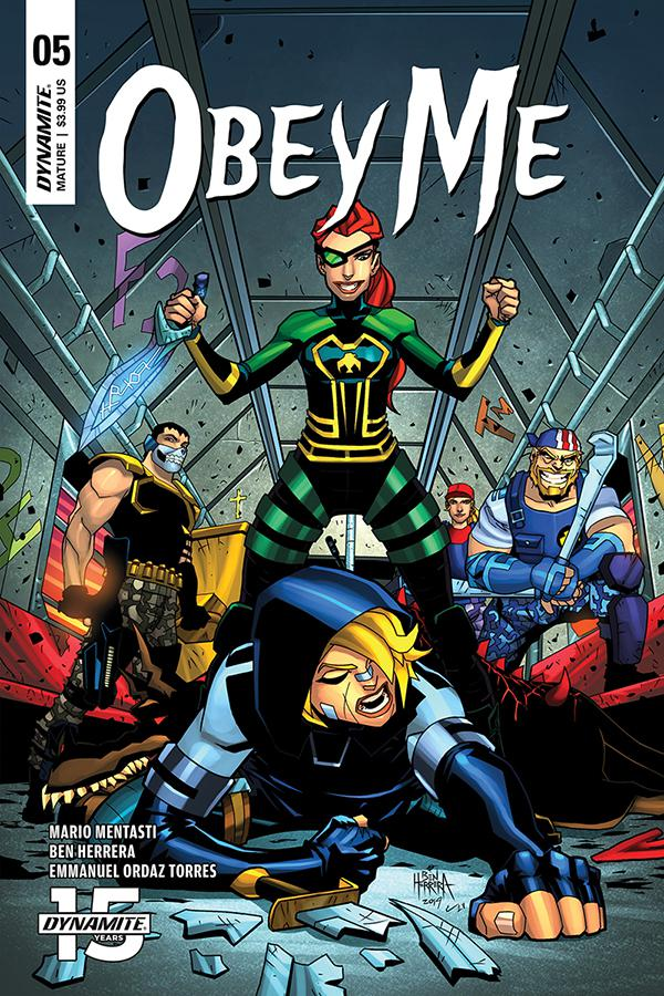 Obey Me #5 Cover A Regular Ben Herrera Cover