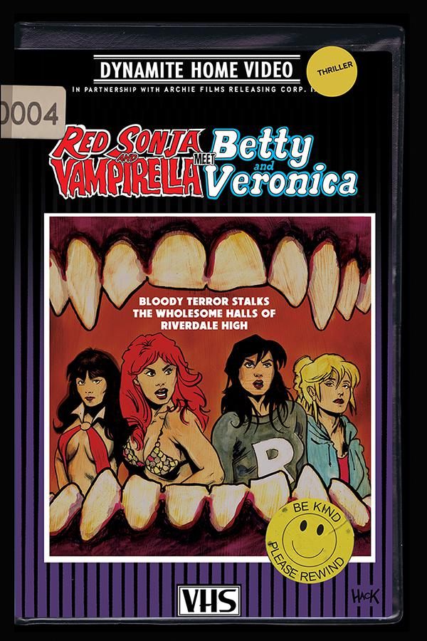 Red Sonja And Vampirella Meet Betty And Veronica #4 Cover B Variant Robert Hack Cover