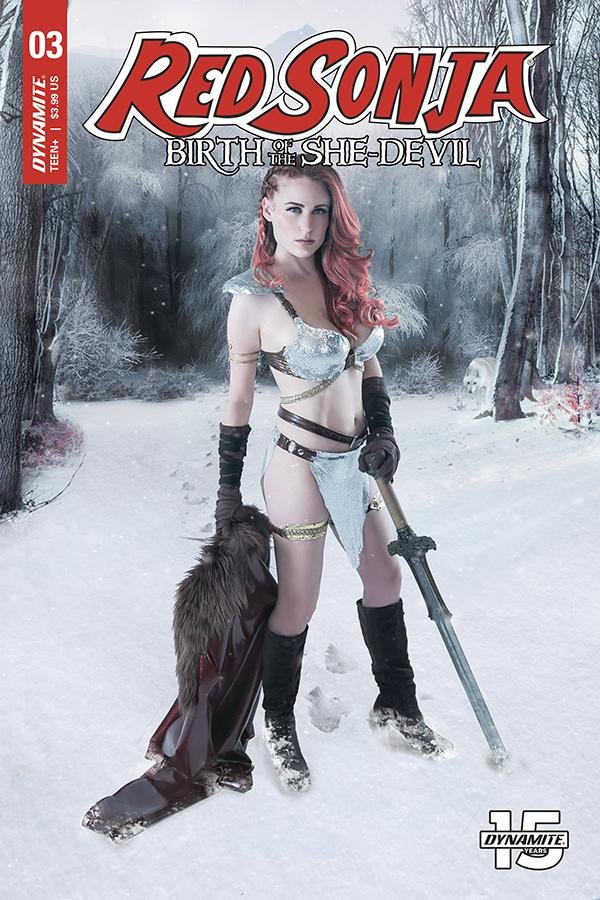 Red Sonja Birth Of The She-Devil #3 Cover C Variant Cosplay Photo Cover