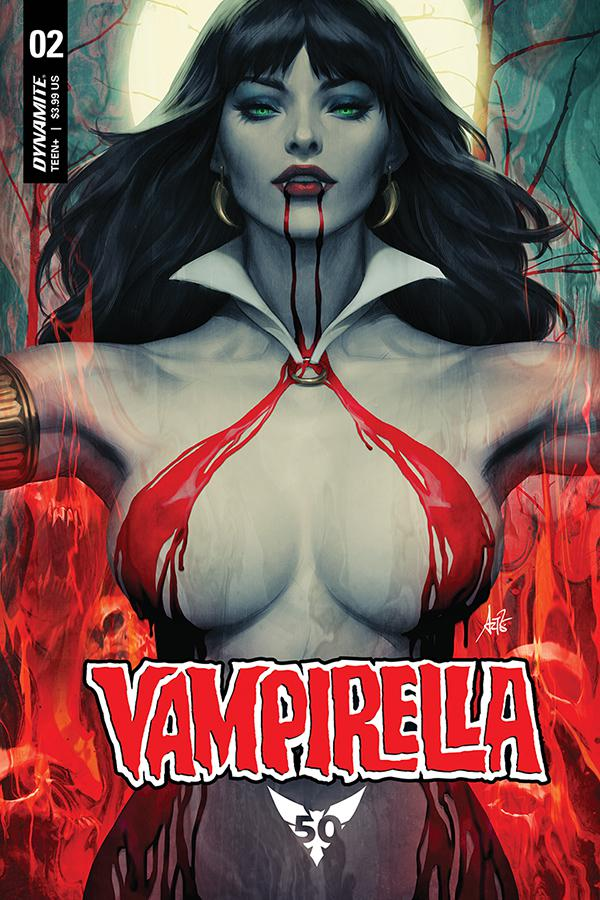 Vampirella Vol 8 #2 Cover A Regular Stanley Artgerm Lau Cover
