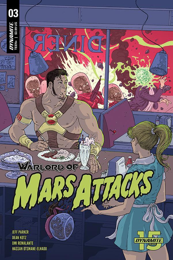 Warlord Of Mars Attacks #3 Cover C Variant Ramon Villalobos Cover