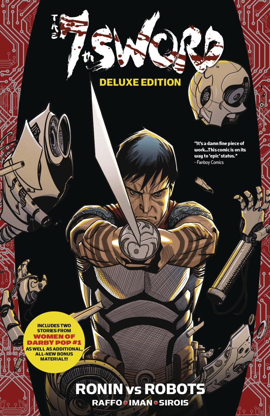 7th Sword Vol 1 Ronin vs Robots Deluxe TP