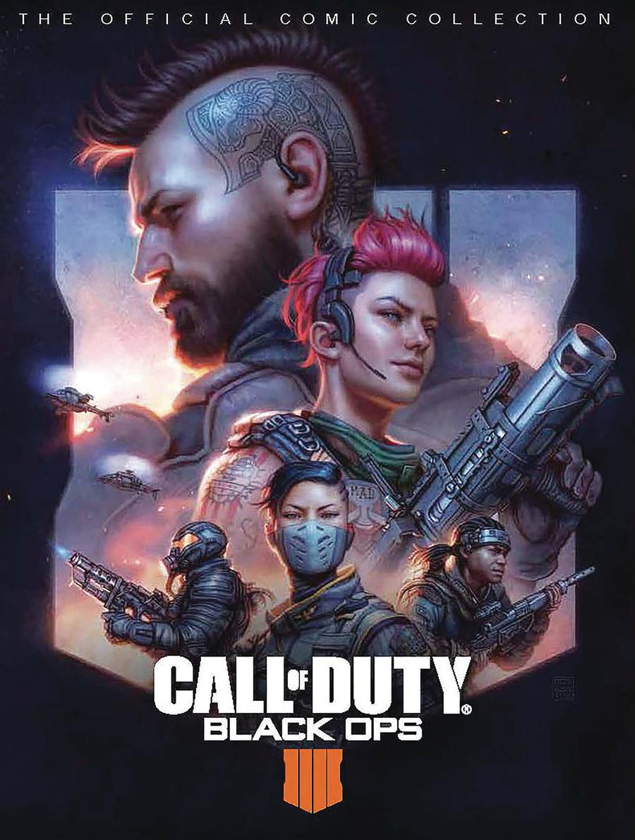 Call Of Duty Black Ops IV Official Comics Collection HC
