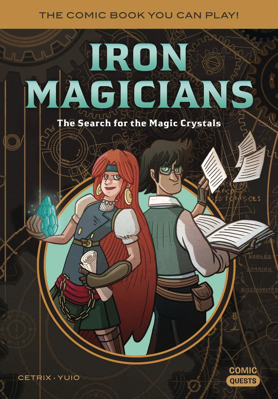 Comic Quests Vol 5 Iron Magicians The Search For The Magic Crystals TP