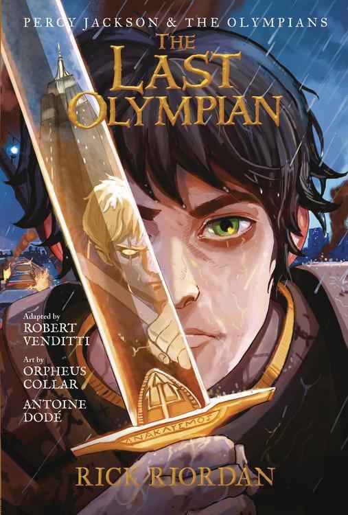 Percy Jackson & The Olympians Graphic Novel Vol 5 Last Olympian TP