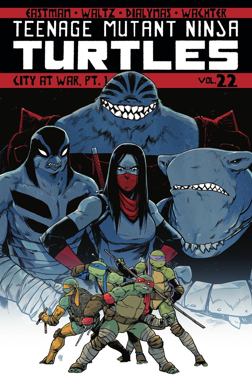 Teenage Mutant Ninja Turtles Ongoing Vol 22 City At War Part 1 TP