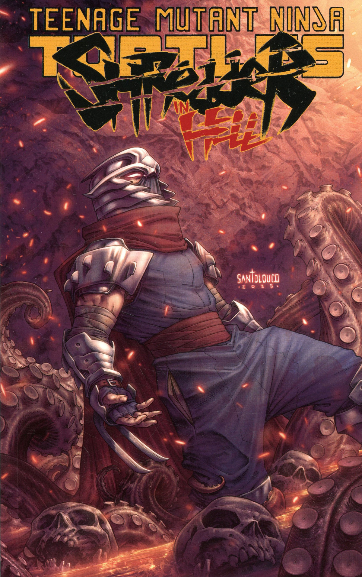 Teenage Mutant Ninja Turtles Shredder In Hell TP