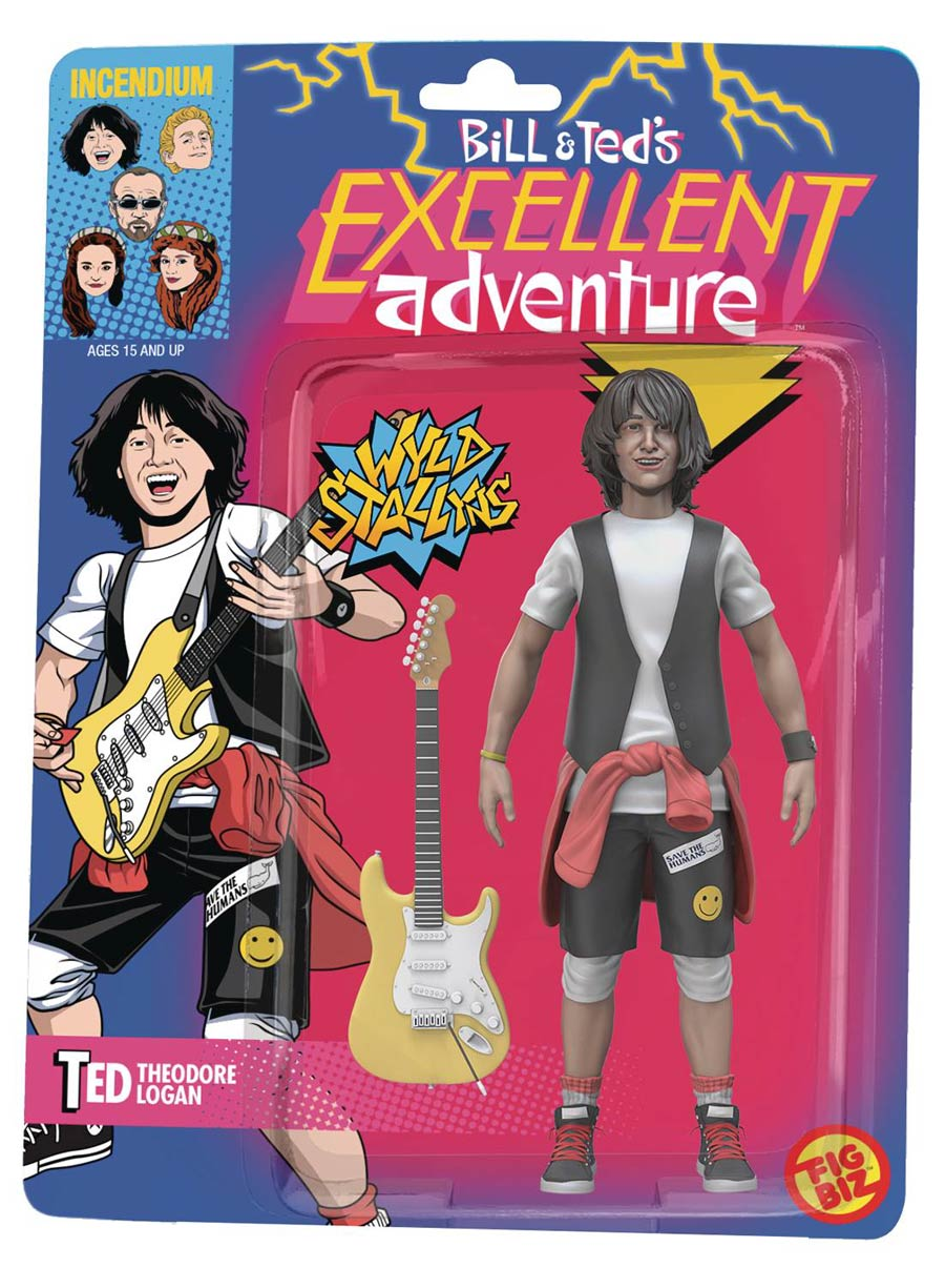 Bill And Teds Excellent Adventure 5-Inch Action Figure - Ted