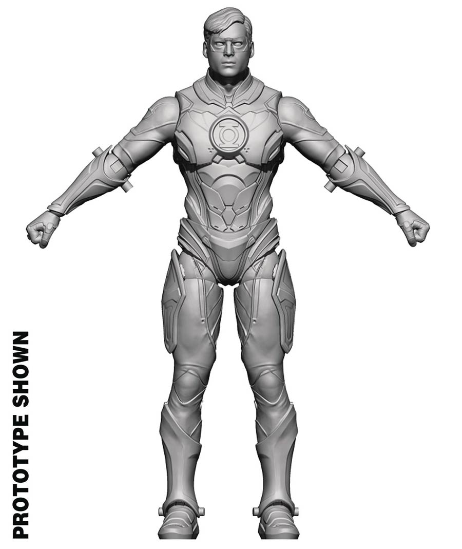 Injustice 2 Green Lantern 1/18 Scale Previews Exclusive Figure