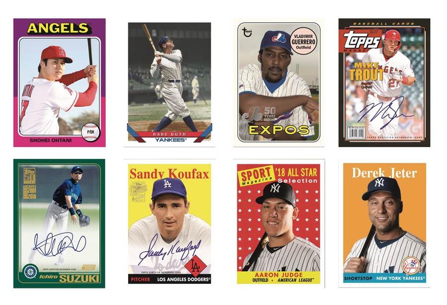 Topps 2019 Archives Baseball Trading Cards Box Midtown Comics