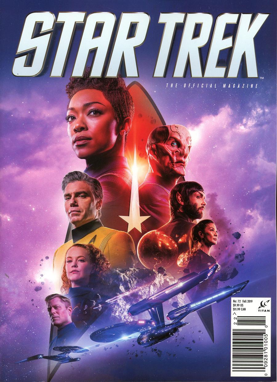Star Trek Magazine #72 Fall 2019 Previews Exclusive Edition
