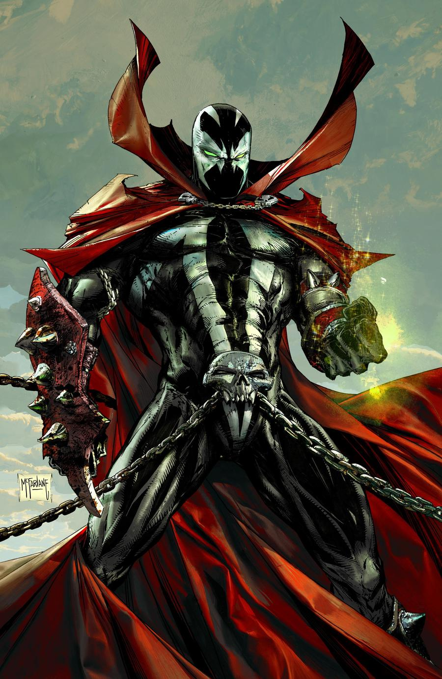 Spawn #300 Cover L Incentive Todd McFarlance Virgin Cover
