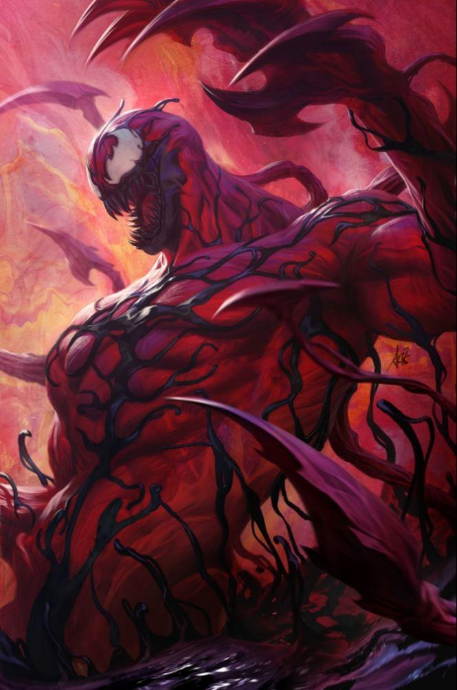 Absolute Carnage #1 Cover M Incentive Stanley Artgerm Lau Virgin Cover