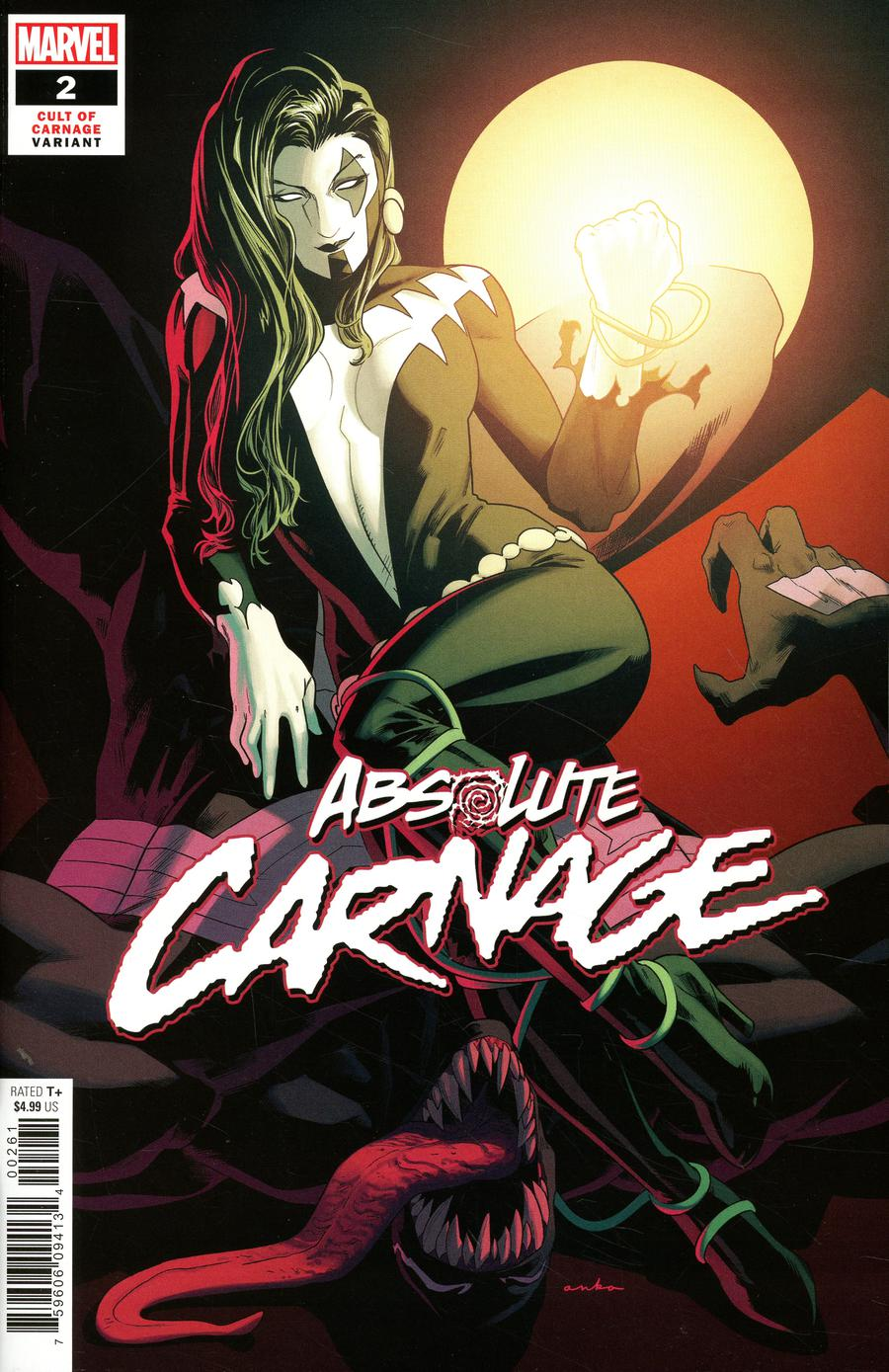 Absolute Carnage #2 Cover G Incentive Kris Anka Cult Of Carnage Variant Cover