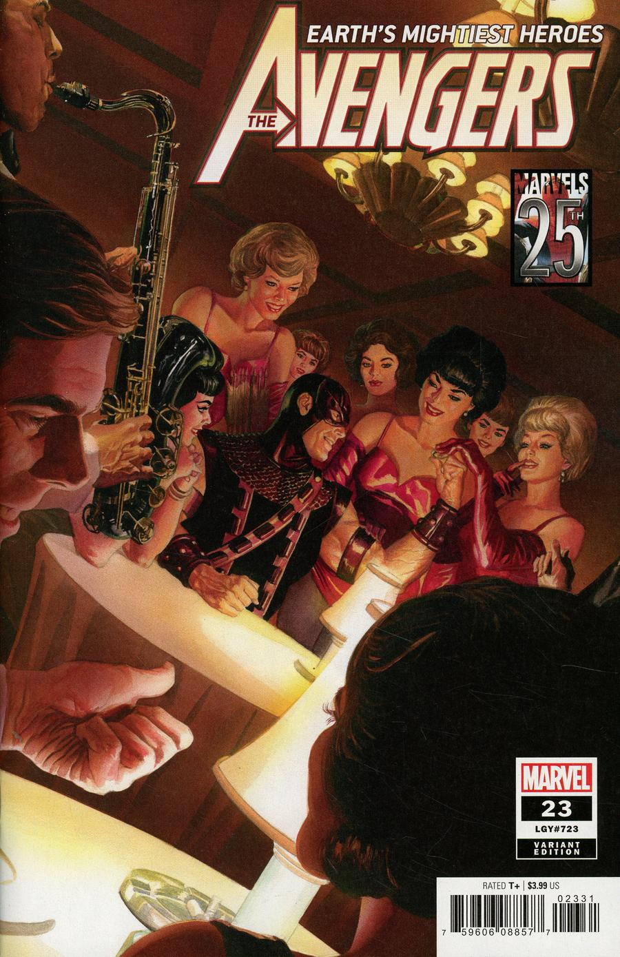 Avengers Vol 7 #23 Cover C Variant Alex Ross Marvels 25th Anniversary Cover