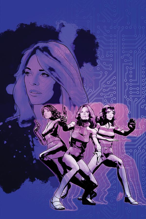 Charlies Angels vs The Bionic Woman #2 Cover D Incentive Cat Staggs Virgin Cover