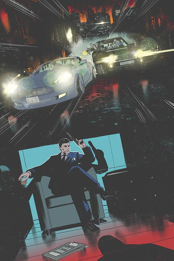 James Bond 007 #10 Cover H Incentive Robert Carey Virgin Cover