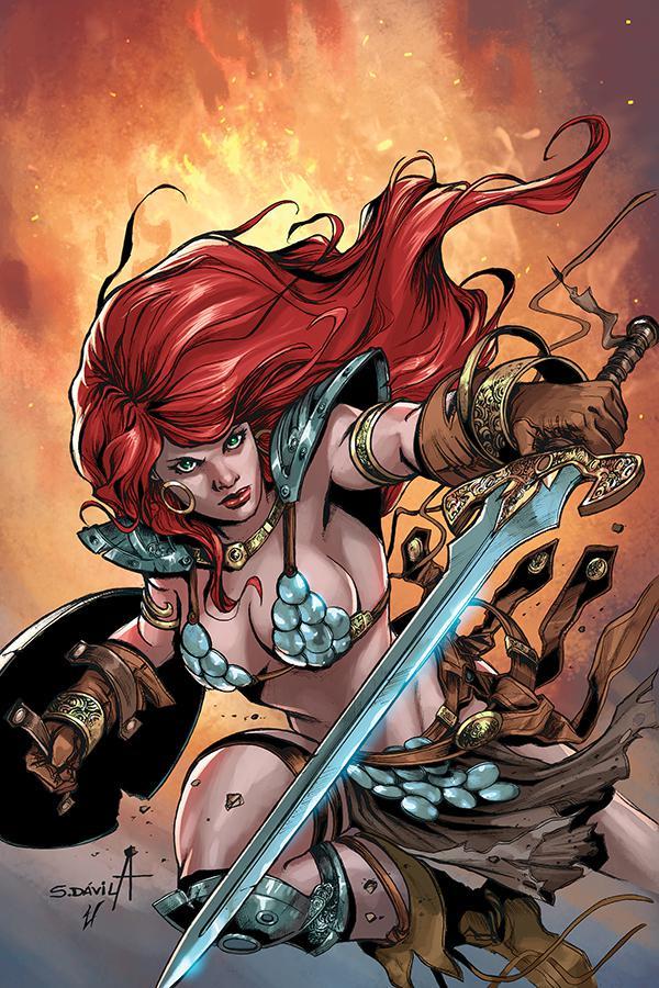 Red Sonja Birth Of The She-Devil #3 Cover D Incentive Sergio Davila Virgin Cover