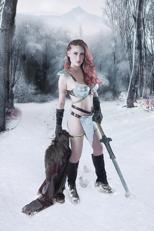 Red Sonja Birth Of The She-Devil #3 Cover H Incentive Cosplay Photo Virgin Cover