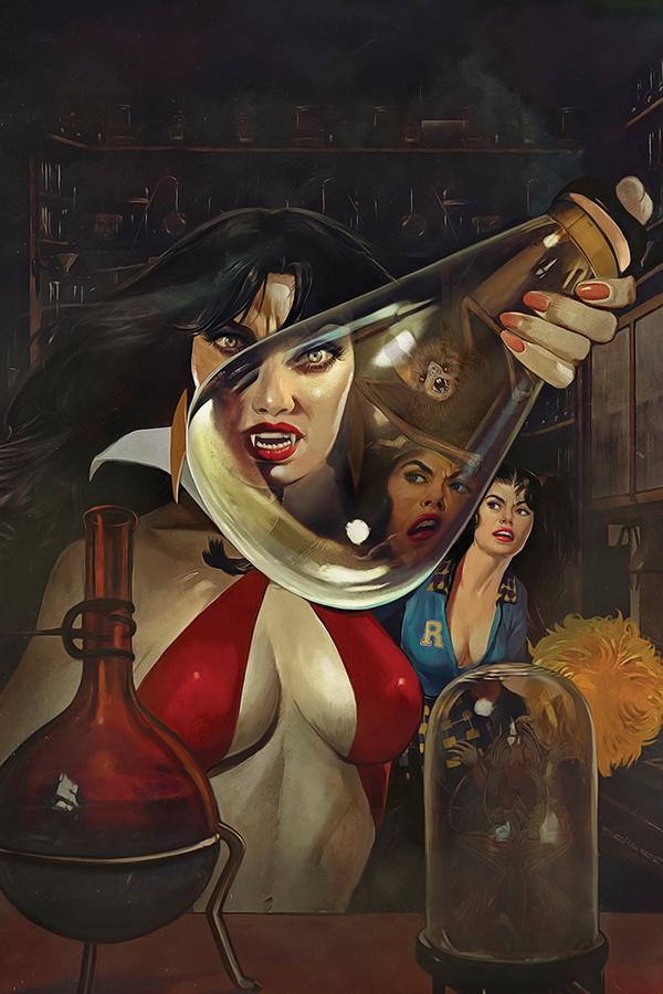 Red Sonja And Vampirella Meet Betty And Veronica #4 Cover K Limited Edition Fay Dalton Virgin Cover
