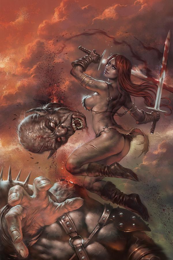 Red Sonja Birth Of The She-Devil #3 Cover I Limited Edition Lucio Parrillo Virgin Cover