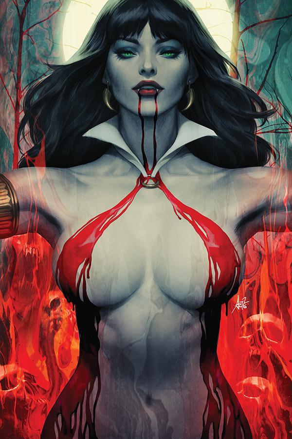 Vampirella Vol 8 #2 Cover M Limited Edition Stanley Artgerm Lau Virgin Cover