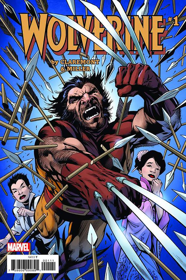 Wolverine #1 Cover K DF Special Encore Edition Signed By Frank Miller