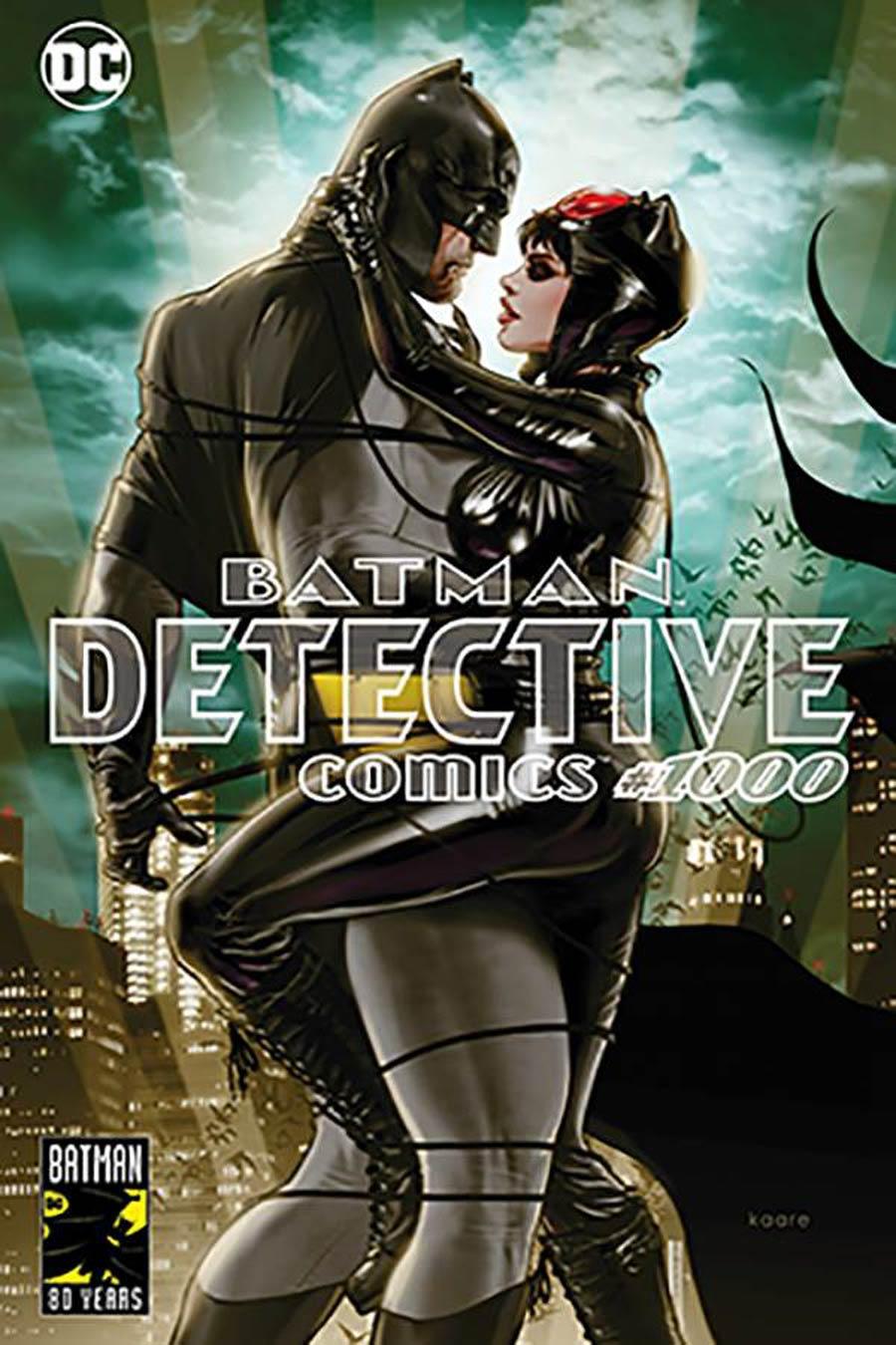 Detective Comics Vol 2 #1000 Cover Z-Q DF Third Eye Comics Exclusive Kaare Andrews Variant Cover