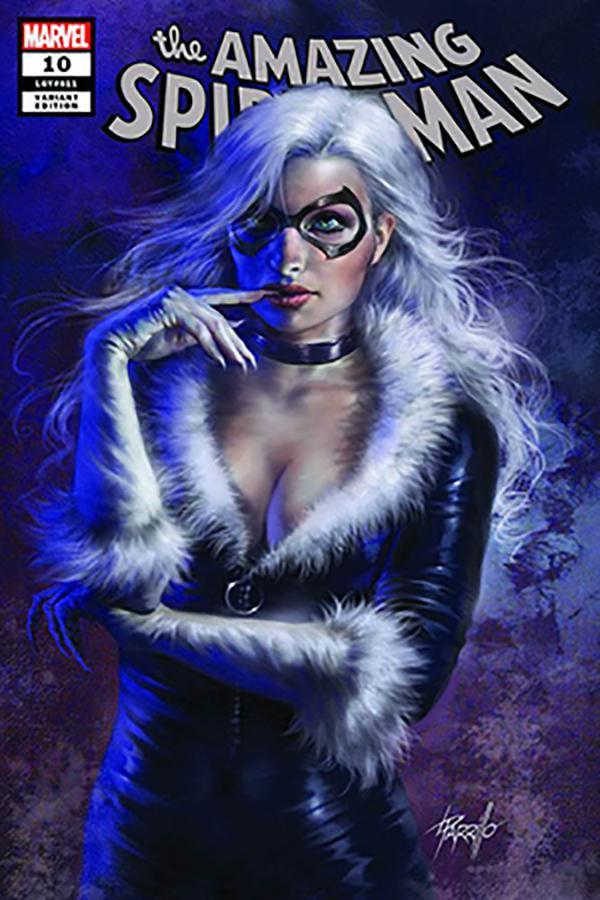 Amazing Spider-Man Vol 5 #10 Cover F DF Comicxposure Exclusive Lucio Parrillo Variant Cover