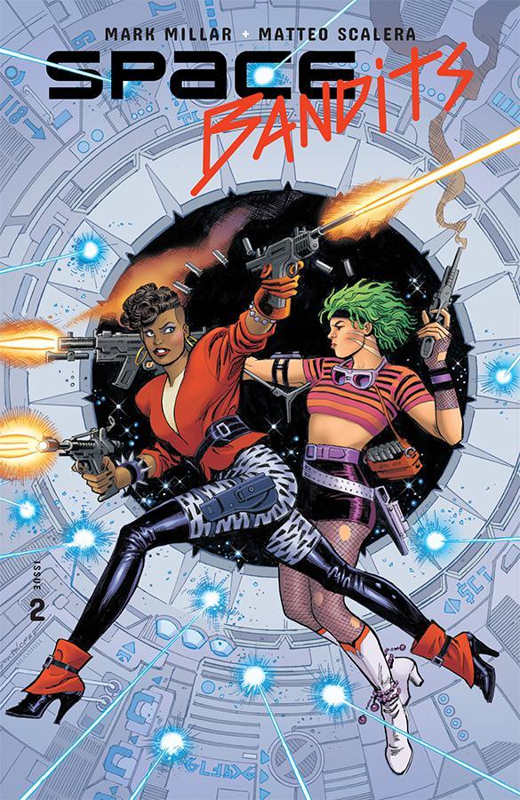 Space Bandits #2 Cover C Variant Jose Luis Garcia-Lopez Legends Cover