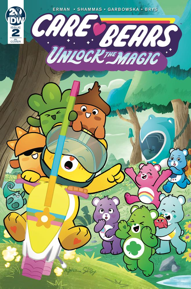 Care Bears Unlock The Magic #2 Cover B Incentive Nico Pena Variant Cover