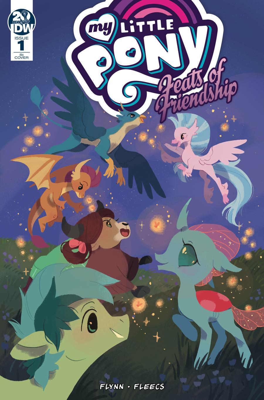 My Little Pony Feats Of Friendship #1 Cover C Incentive Katie ONeill Variant Cover