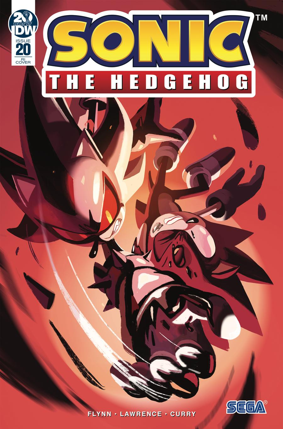 Sonic The Hedgehog Vol 3 #20 Cover C Incentive Nathalie Fourdraine Variant Cover