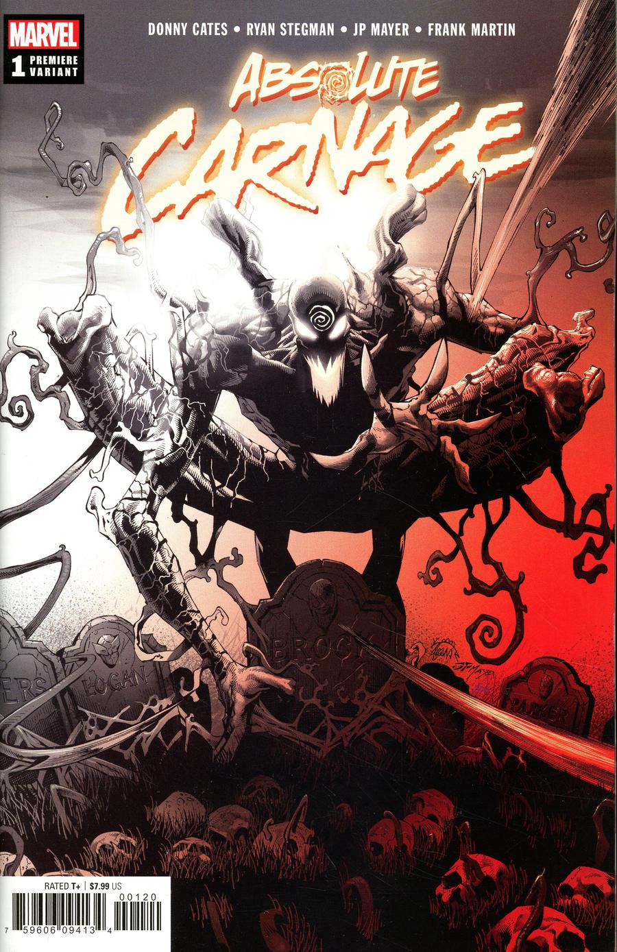 Absolute Carnage #1 Cover N Incentive Ryan Stegman Premiere Variant Cover