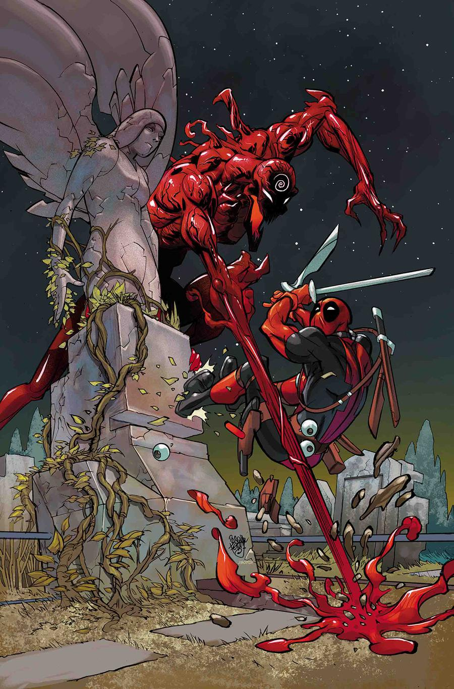 Absolute Carnage vs Deadpool #1 Cover F Incentive Pasqual Ferry Virgin Cover