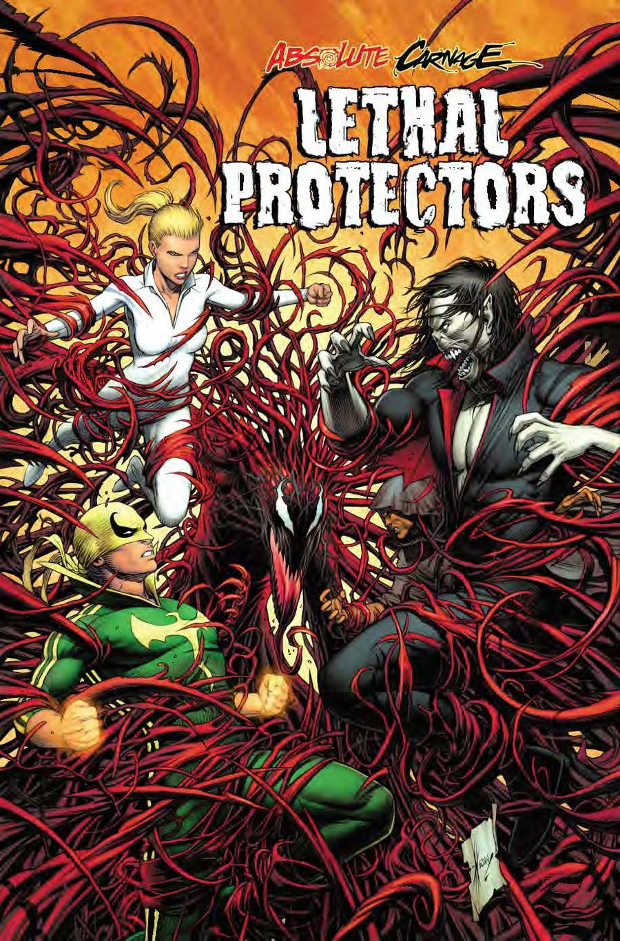 Absolute Carnage Lethal Protectors #1 Cover D Incentive Dale Keown Variant Cover