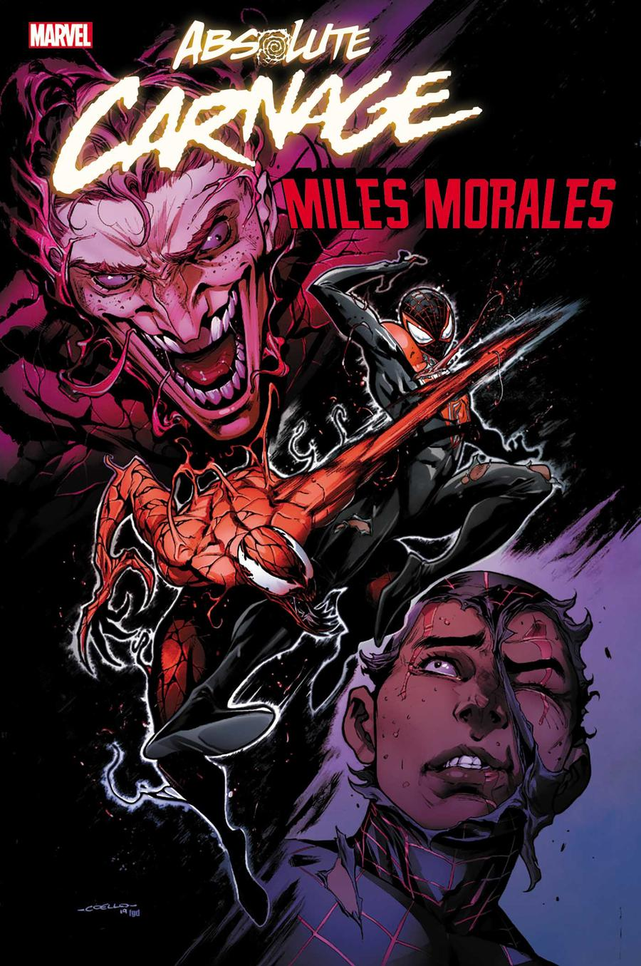 Absolute Carnage Miles Morales #1 Cover E Incentive Iban Coello Variant Cover