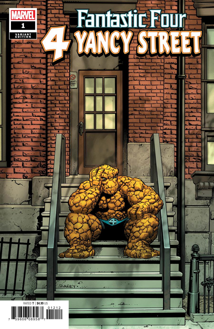 Fantastic Four 4 Yancy Street #1 Cover C Incentive Tom Raney Variant Cover