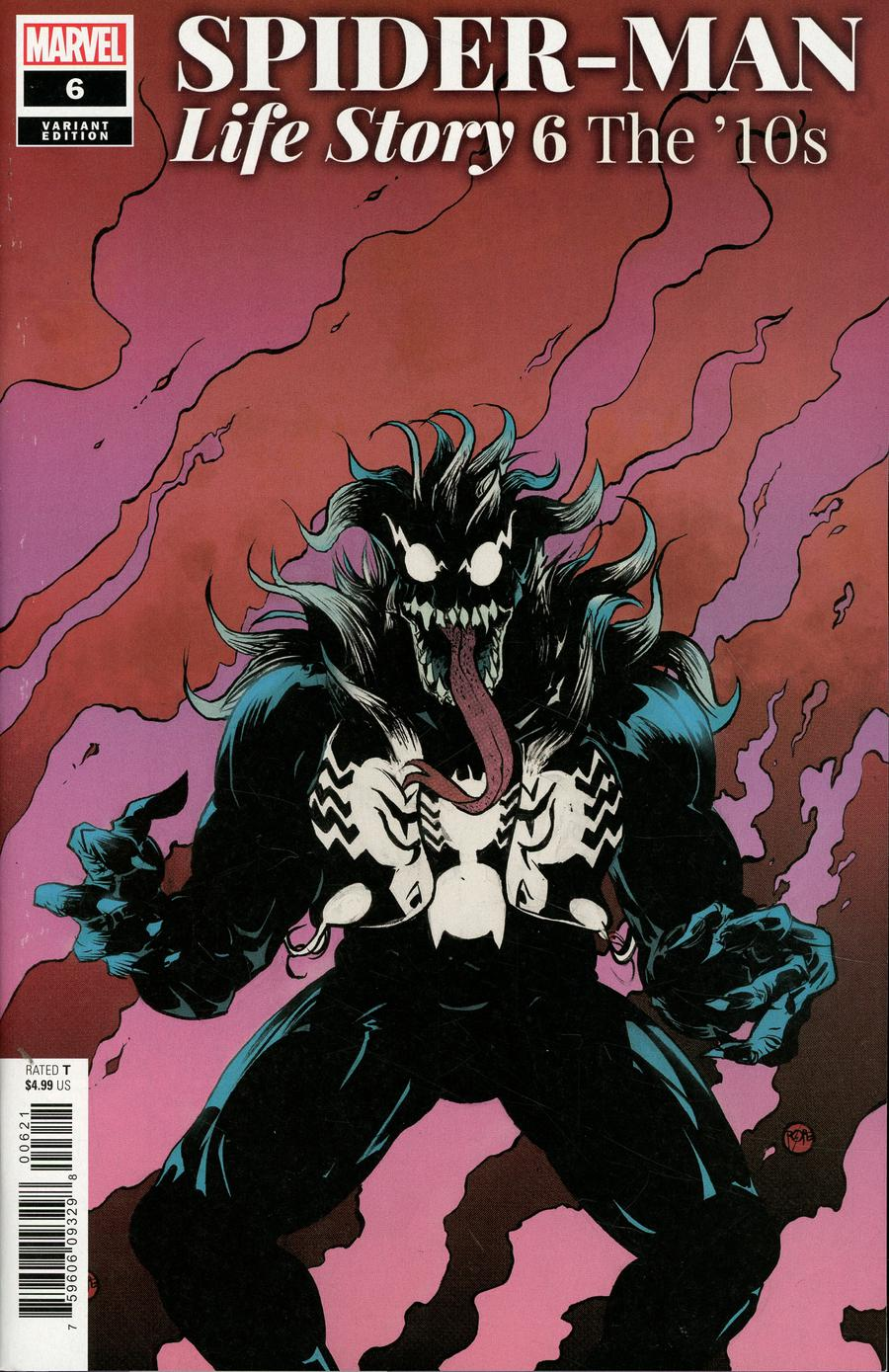 Spider-Man Life Story #6 Cover B Incentive Paul Pope Variant Cover