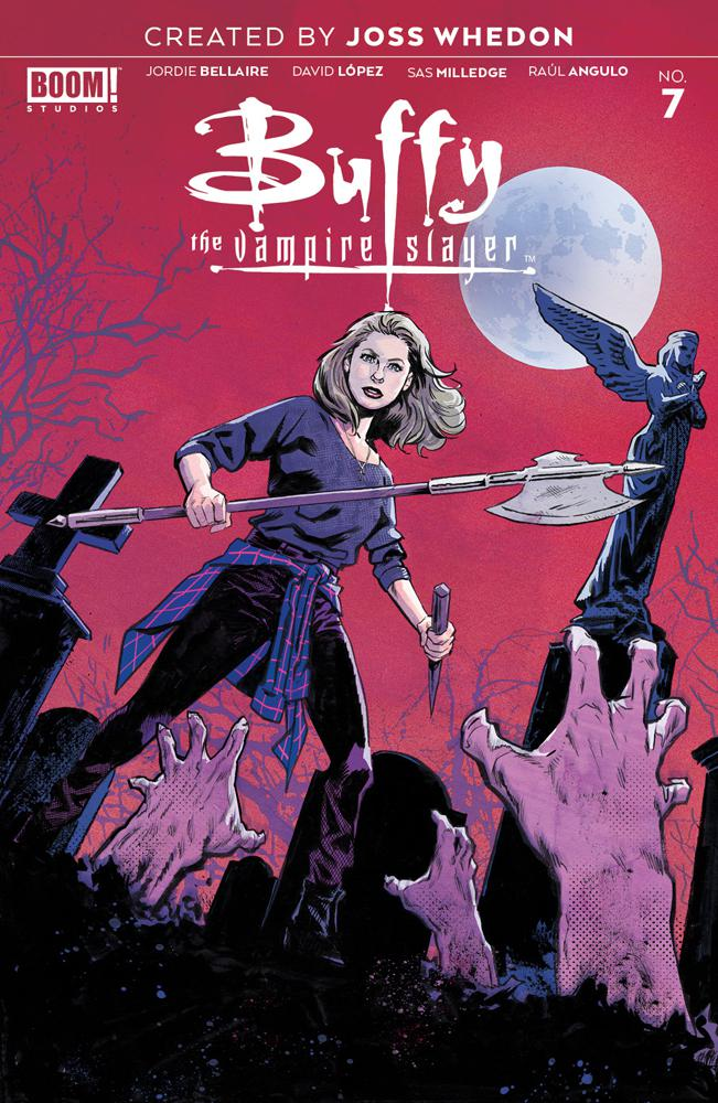 Buffy The Vampire Slayer Vol 2 #7 Cover G Incentive Michael Walsh Virgin Variant Cover
