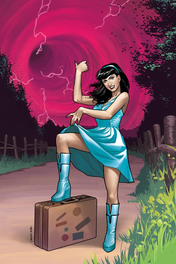 Bettie Page Unbound #1 Cover H Variant Julius Ohta Virgin Cover